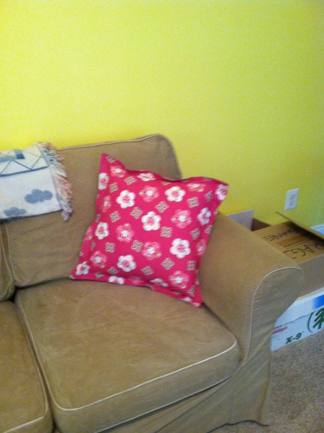 Pillow delivered to Anna's house