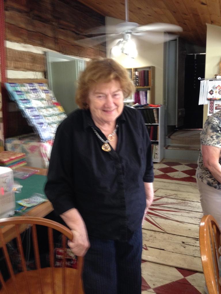 Maureen Smart, shop owner