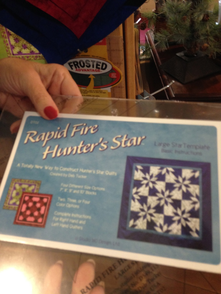 Make a star quilt yourself!